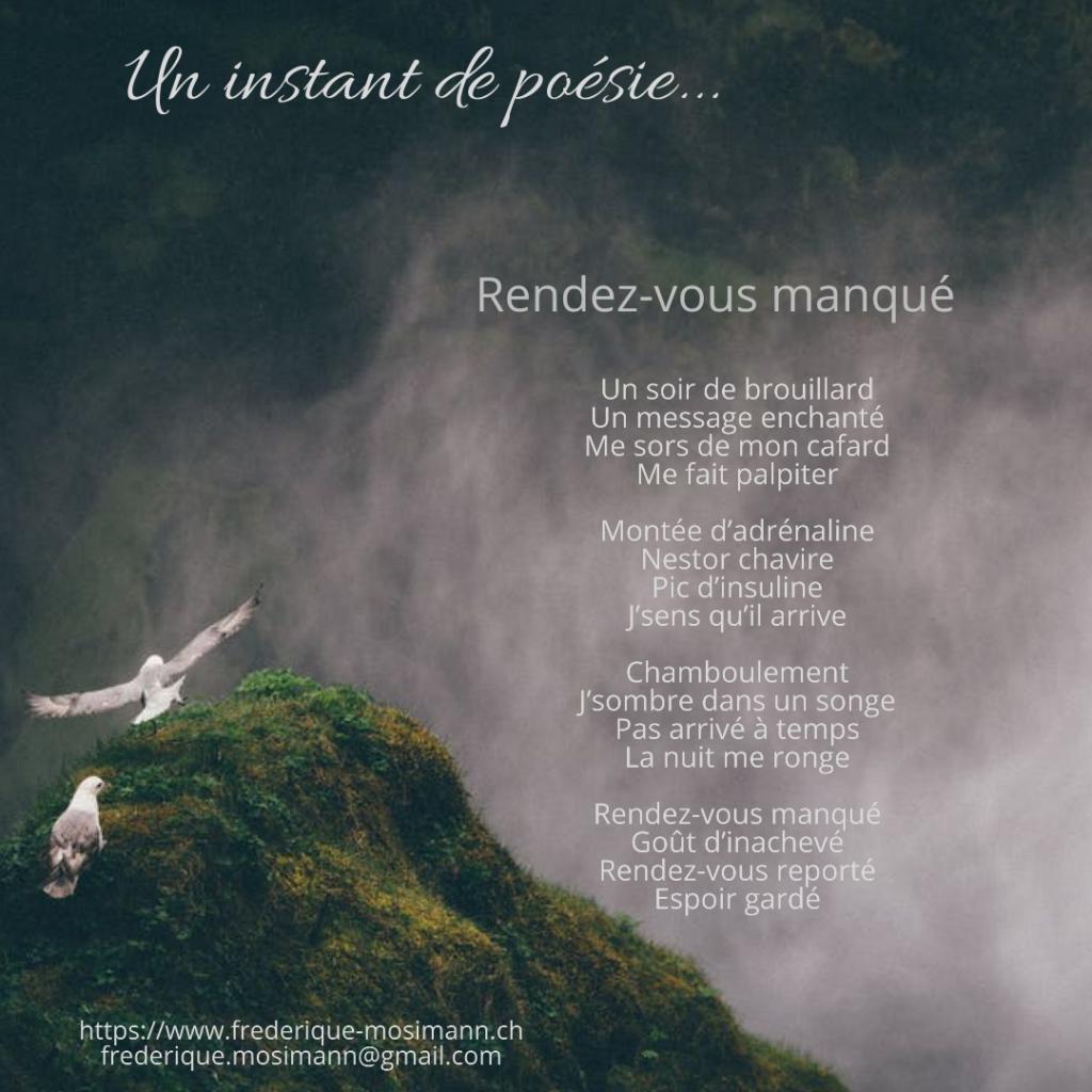 Un instant de poésie Frédérique Mosimann Le café des écorchés La toile enflammée Roman Auteur